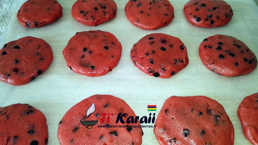 Cookies fourrée aux nutella