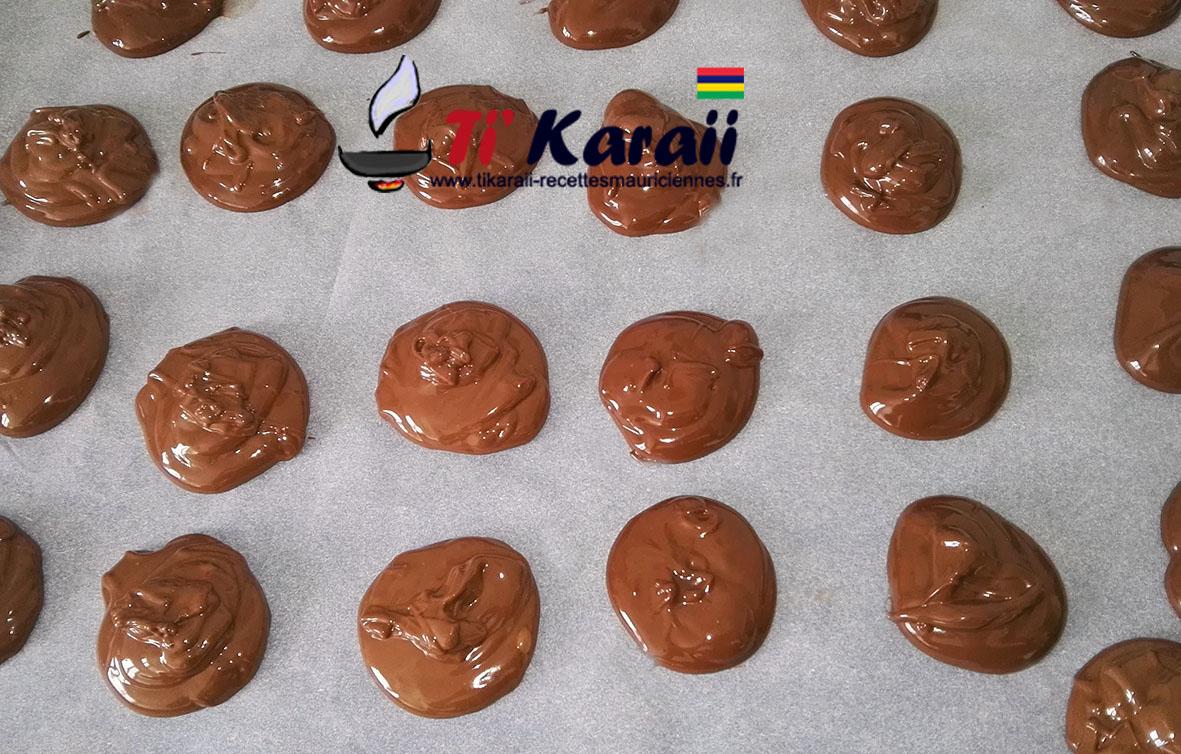 Cookies fourée aux nutella
