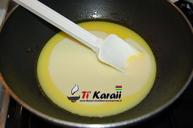 gateau de lait peda