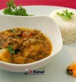 Curry Massala Madras à la viande hachée (kheema methi)