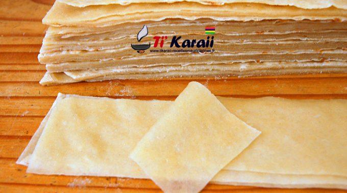 Pâte à Samoussa Parr